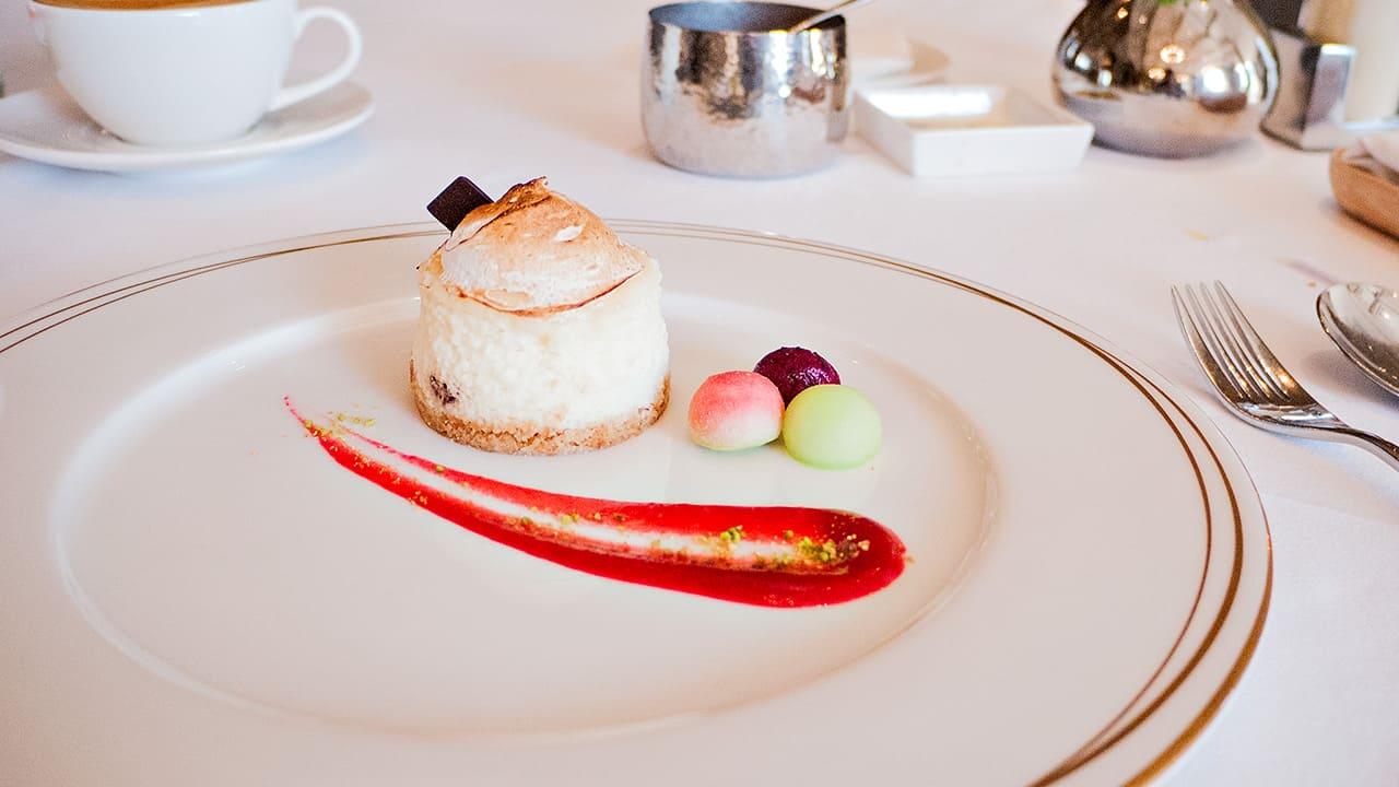 台北美福大飯店GMT義法餐廳自製季節甜點起士乳酪