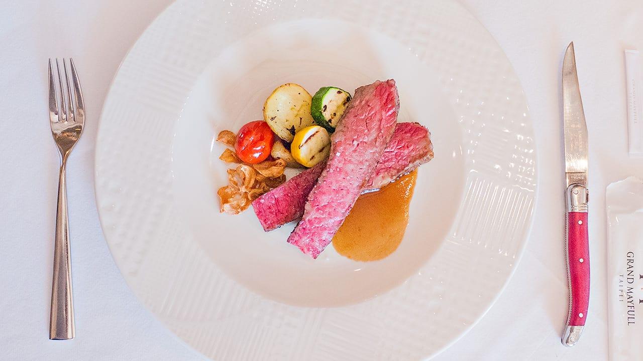 台北美福飯店上班族下班副業賺錢小提米GMT義法餐廳牛肉