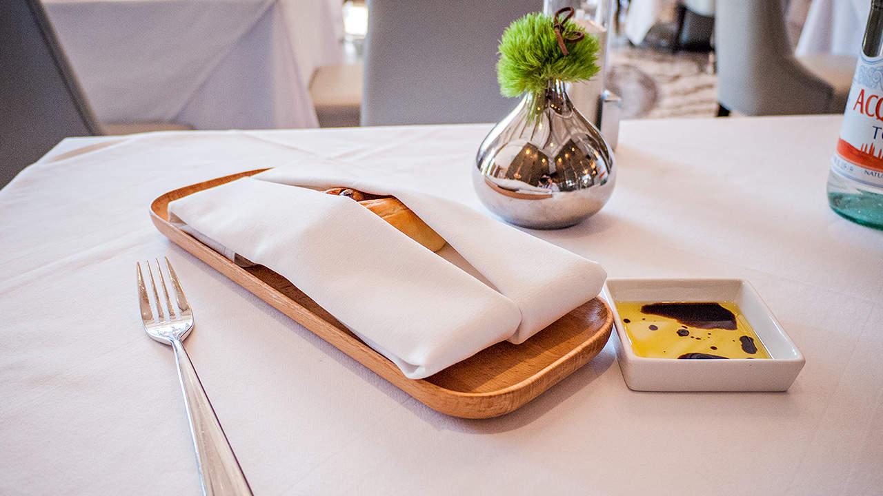 台北美福飯店GMT歐陸義法餐廳附餐麵包保溫