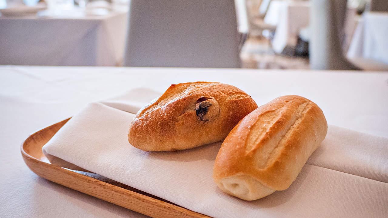 台北美福飯店GMT歐陸義法餐廳附餐麵包